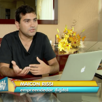 Maicon Rissi Na TV | Reportagem Sobre O Trabalho Em Casa | Home Office