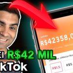 Como Ganhar Dinheiro No TikTok | Dinheiro Online Na Internet Com Celular | Aplicativo Lucrativo